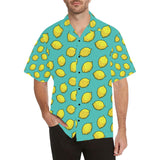 Lemon Pattern Print Design LM04 Hawaiian Shirt-kunshirts.com