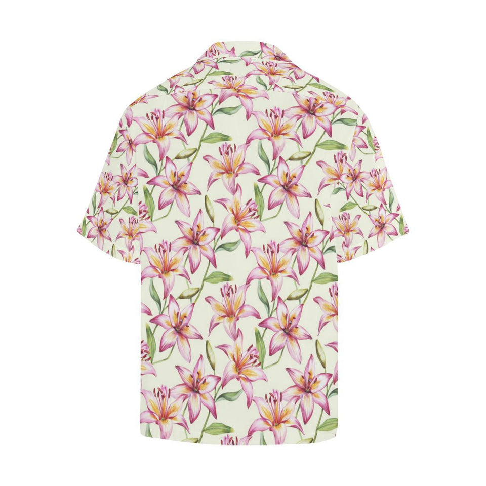 Lily Pattern Print Design LY011 Hawaiian Shirt-kunshirts.com