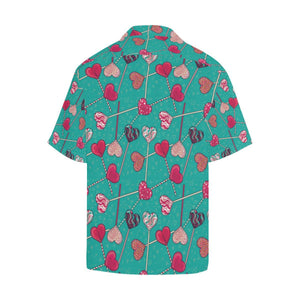 Lollipop Pattern Print Design LL01 Hawaiian Shirt-kunshirts.com