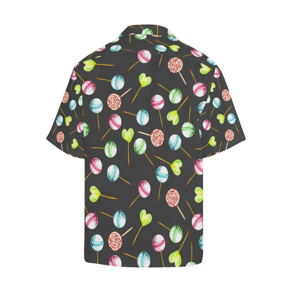 Lollipop Pattern Print Design LL02 Hawaiian Shirt-kunshirts.com