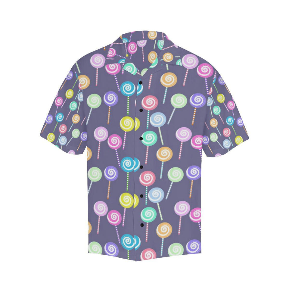 Lollipop Pattern Print Design LL03 Hawaiian Shirt-kunshirts.com