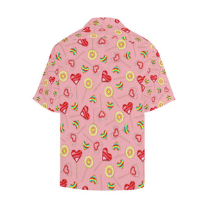 Lollipop Pattern Print Design LL05 Hawaiian Shirt-kunshirts.com