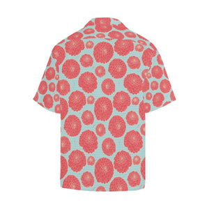 Marigold Pattern Print Design MR03 Hawaiian Shirt-kunshirts.com