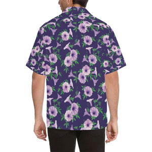 Morning Glory Pattern Print Design MG01 Hawaiian Shirt-kunshirts.com
