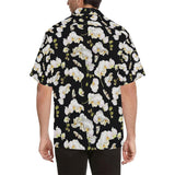 Orchid White Pattern Print Design OR011 Hawaiian Shirt-kunshirts.com