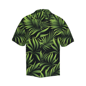 Palm Leaves Pattern Print Design PL07 Hawaiian Shirt-kunshirts.com