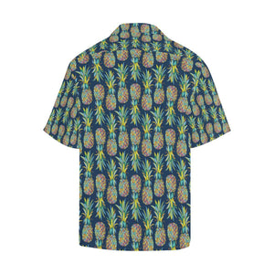 Pineapple Color Art Hawaiian Shirt-kunshirts.com