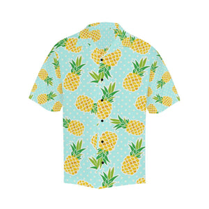 Pineapple Pattern Print Design PP01 Hawaiian Shirt-kunshirts.com