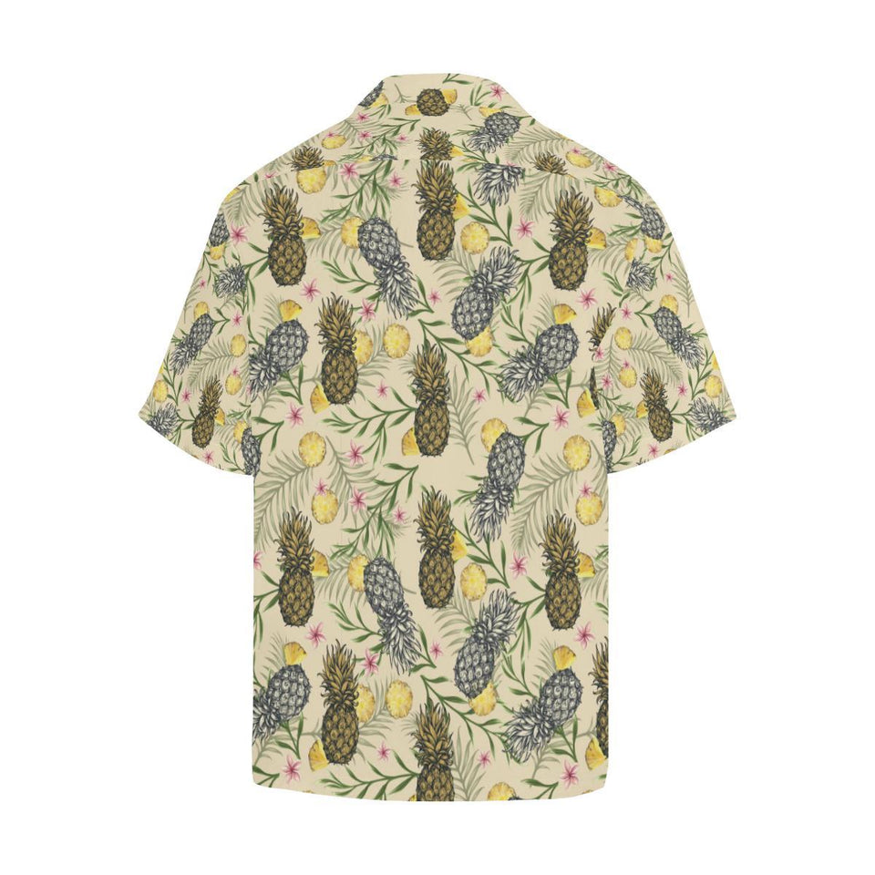 Pineapple Pattern Print Design PP012 Hawaiian Shirt-kunshirts.com