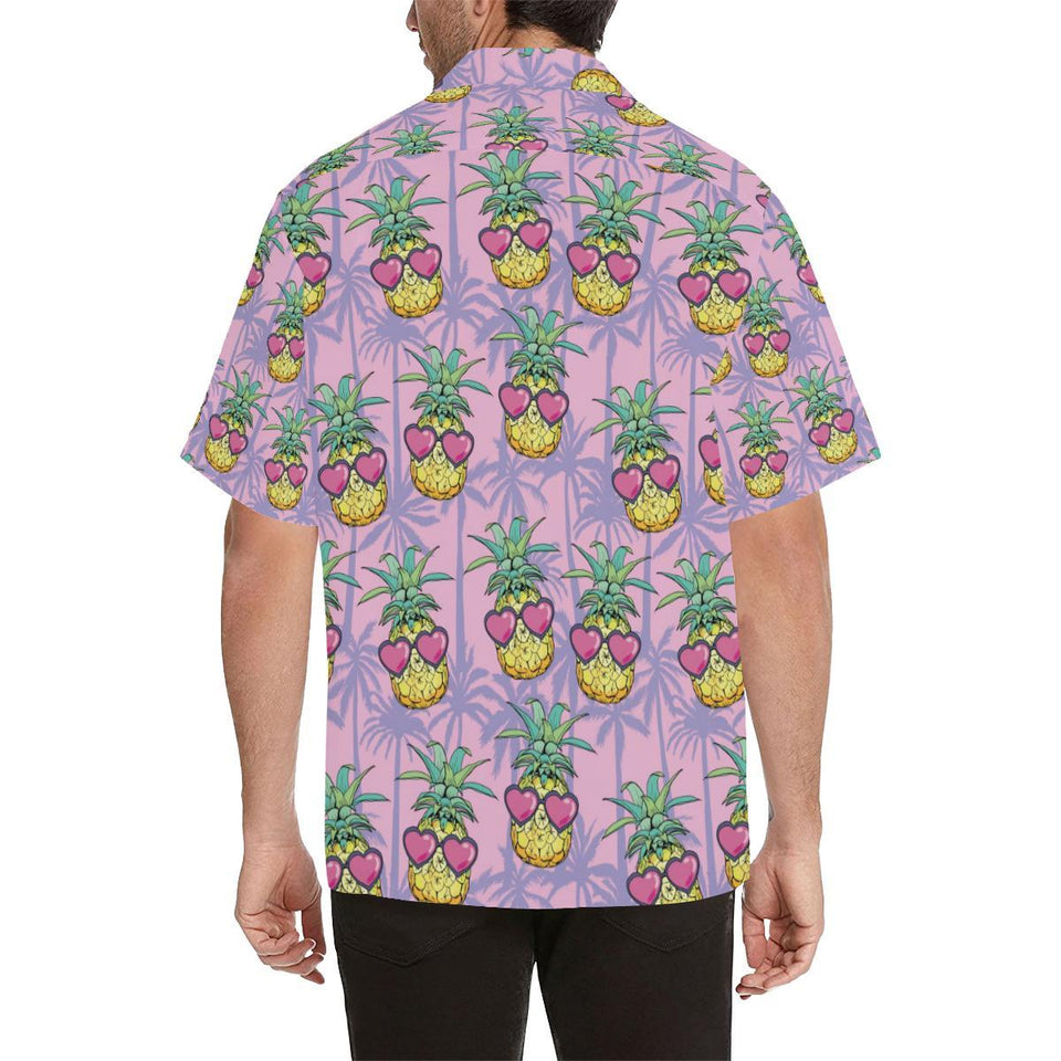 Pineapple Pattern Print Design PP06 Hawaiian Shirt-kunshirts.com