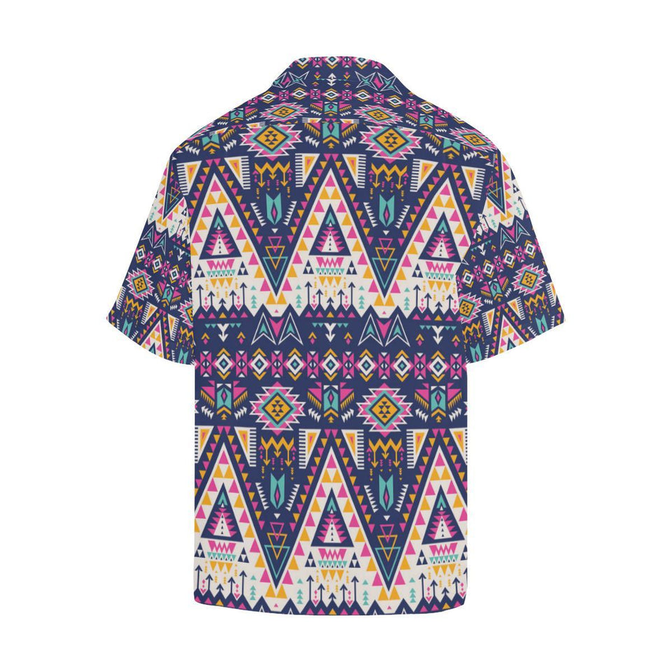Pink Tribal Aztec native american Hawaiian Shirt-kunshirts.com