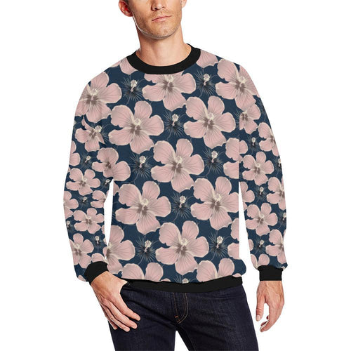 Plumeria Pattern Print Design PM018 Men Sweatshirt-kunshirts.com