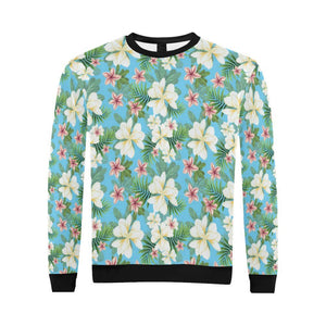 Plumeria Pattern Print Design PM028 Men Sweatshirt-kunshirts.com
