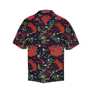 Poinsettia Pattern Print Design POT02 Hawaiian Shirt-kunshirts.com