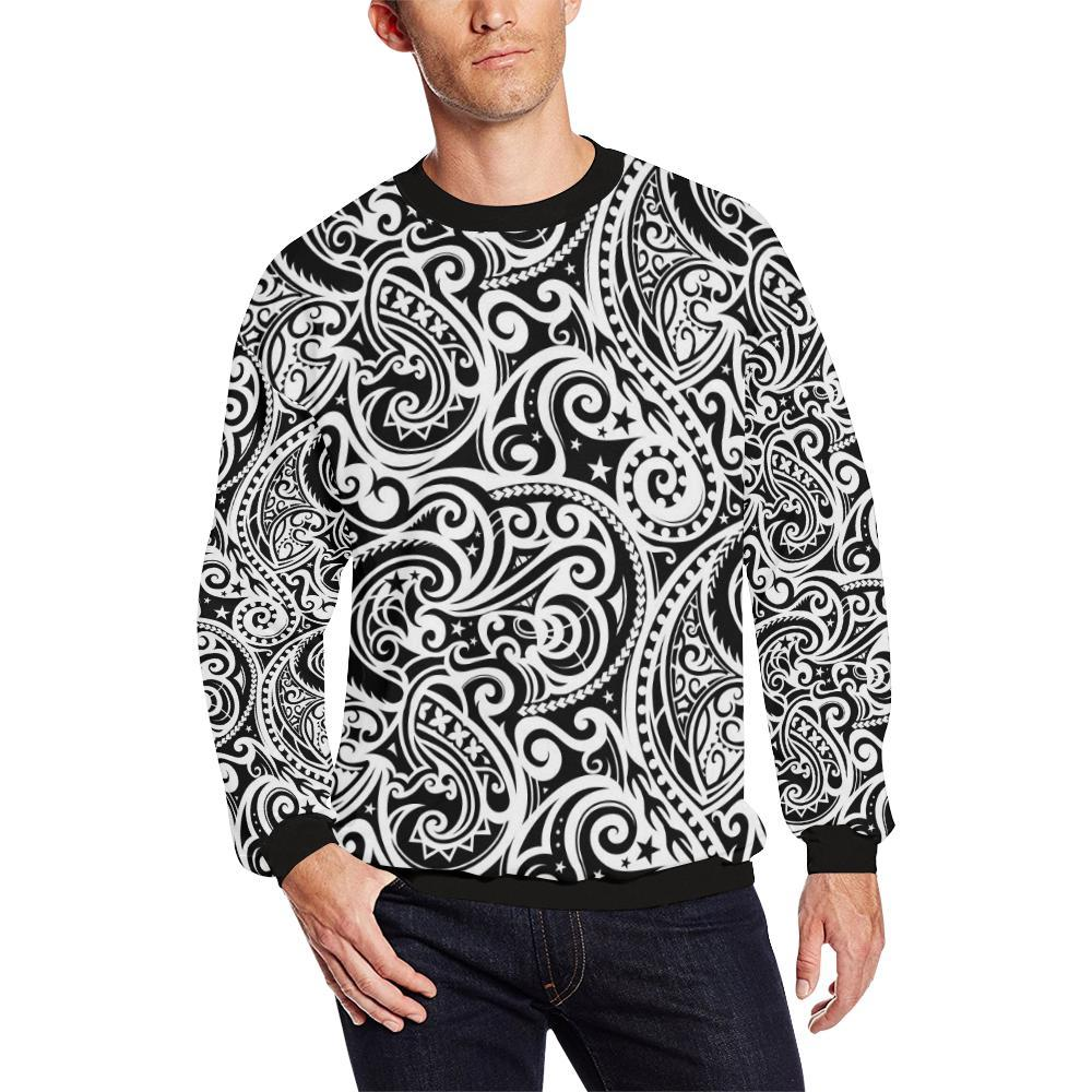 Polynesian Traditional Tribal Men Sweatshirt-kunshirts.com