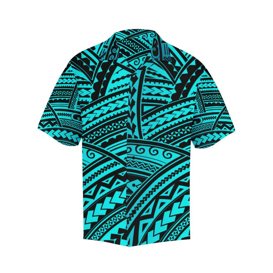 Polynesian Tribal Hawaiian Shirt-kunshirts.com