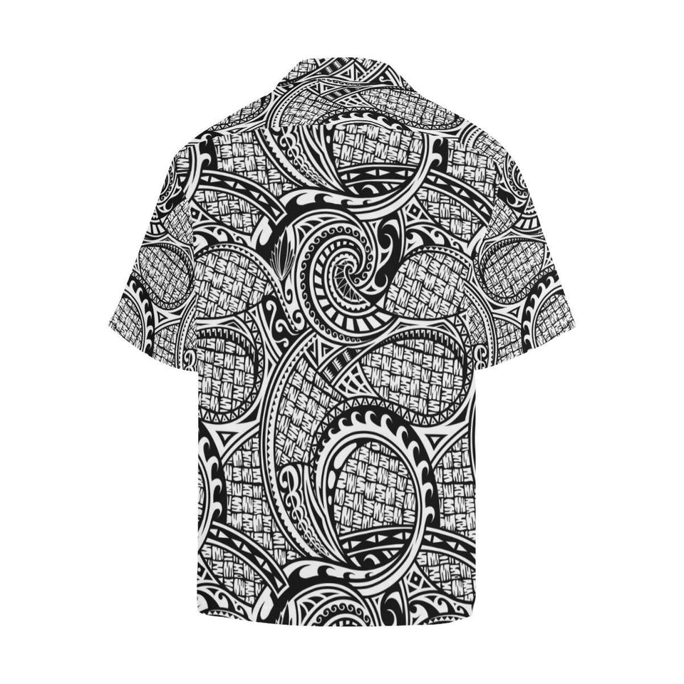 Polynesian Tribal Pattern Hawaiian Shirt-kunshirts.com