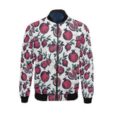 Pomegranate Pattern Print Design PG01 Men Bomber Jacket-kunshirts.com