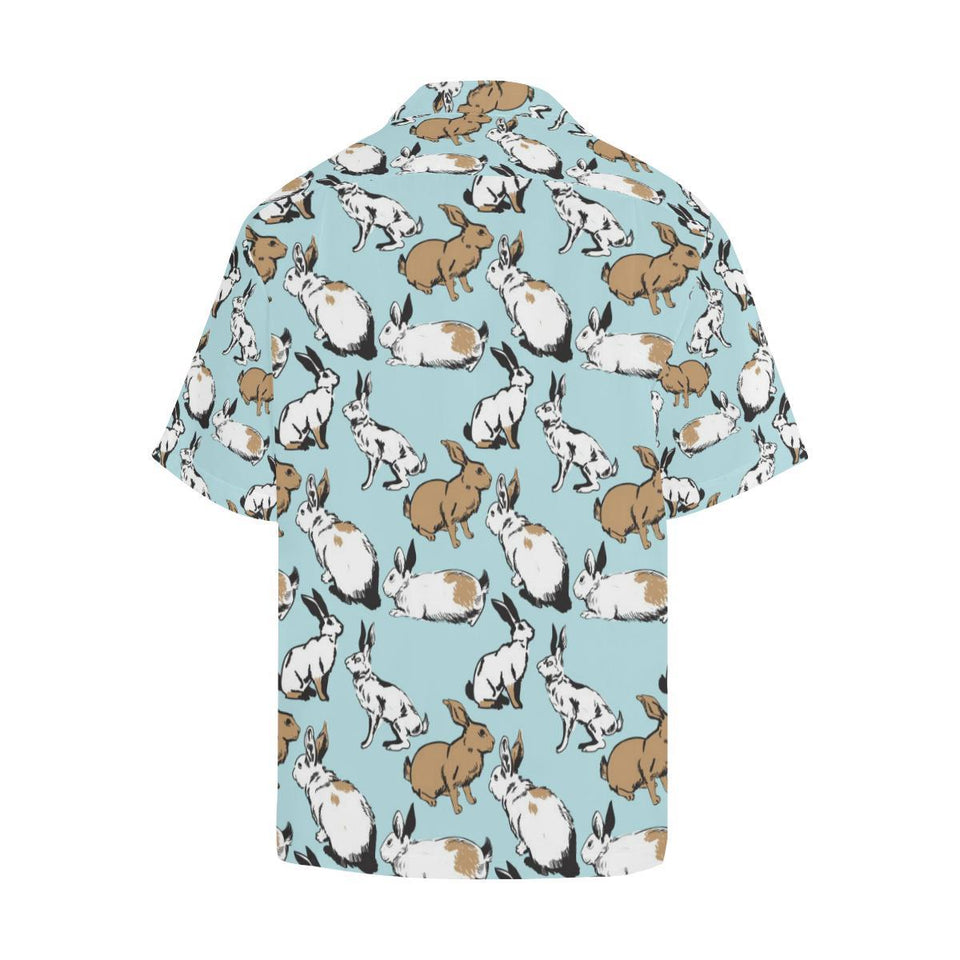Rabbit Pattern Print Design RB018 Hawaiian Shirt-kunshirts.com