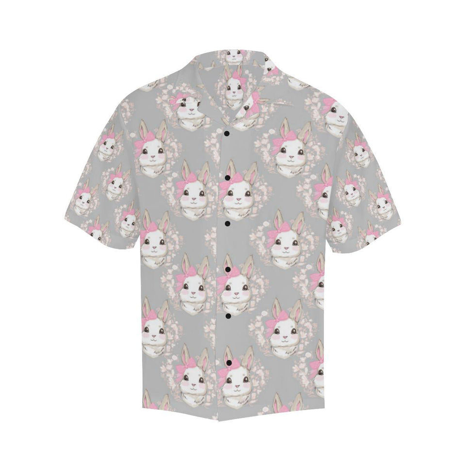 Rabbit Pattern Print Design RB07 Hawaiian Shirt-kunshirts.com