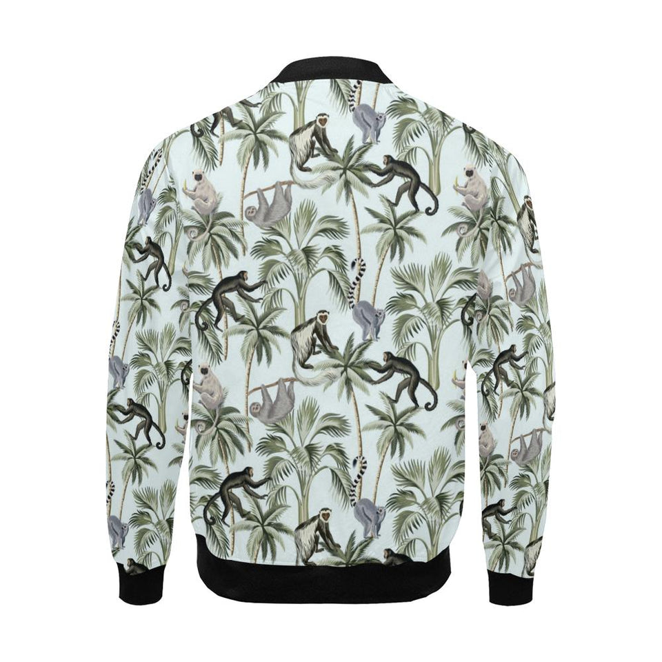 Rainforest Pattern Print Design RF04 Men Bomber Jacket-kunshirts.com