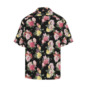 Rose Pattern Print Design RO010 Hawaiian Shirt-kunshirts.com