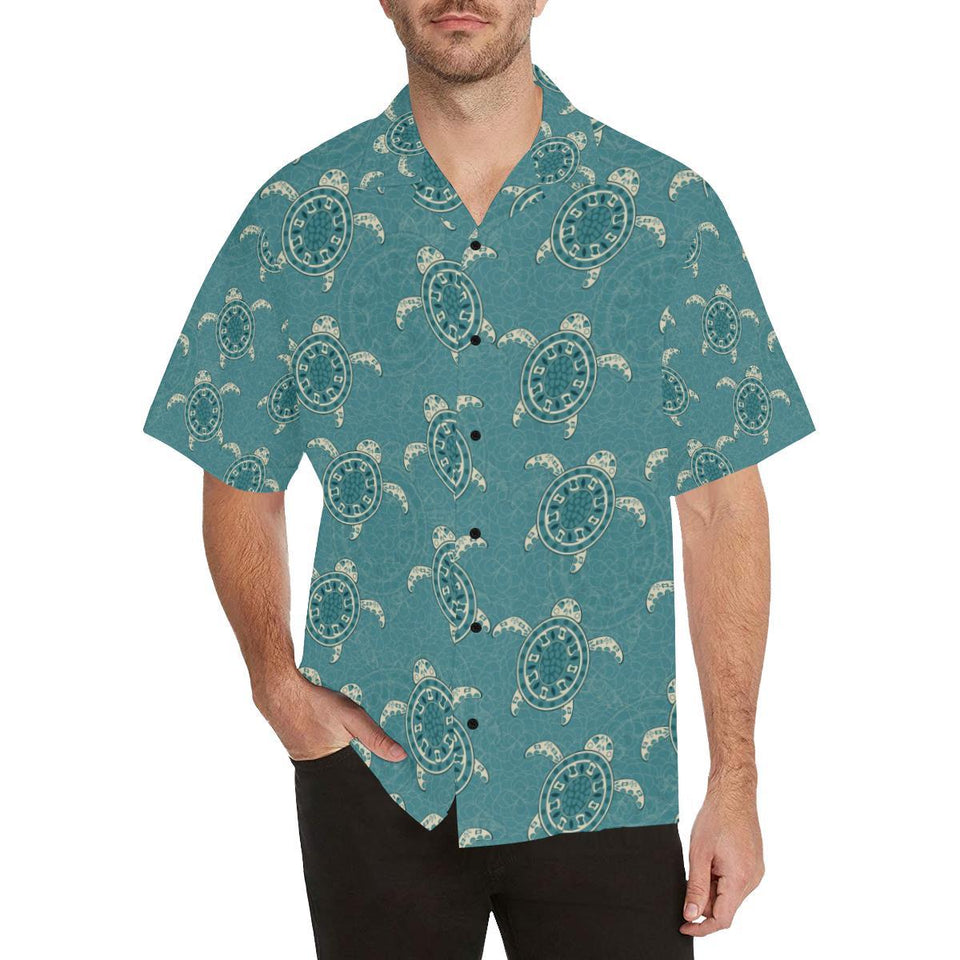 Sea Turtle Pattern Print Design T02 Hawaiian Shirt-kunshirts.com