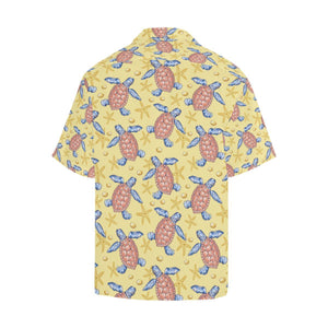 Sea Turtle Pattern Print Design T06 Hawaiian Shirt-kunshirts.com