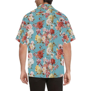Summer Floral Pattern Print Design SF05 Hawaiian Shirt-kunshirts.com