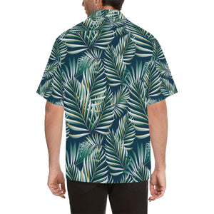 Sun Spot Tropical Palm Leaves Hawaiian Shirt-kunshirts.com