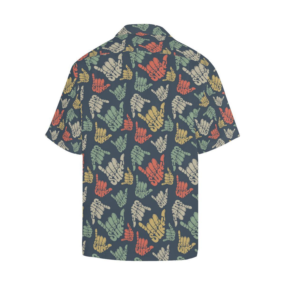 Surf Hand sign Hawaiian Shirt-kunshirts.com