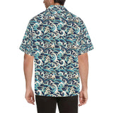 Surf Wave Pattern Hawaiian Shirt-kunshirts.com