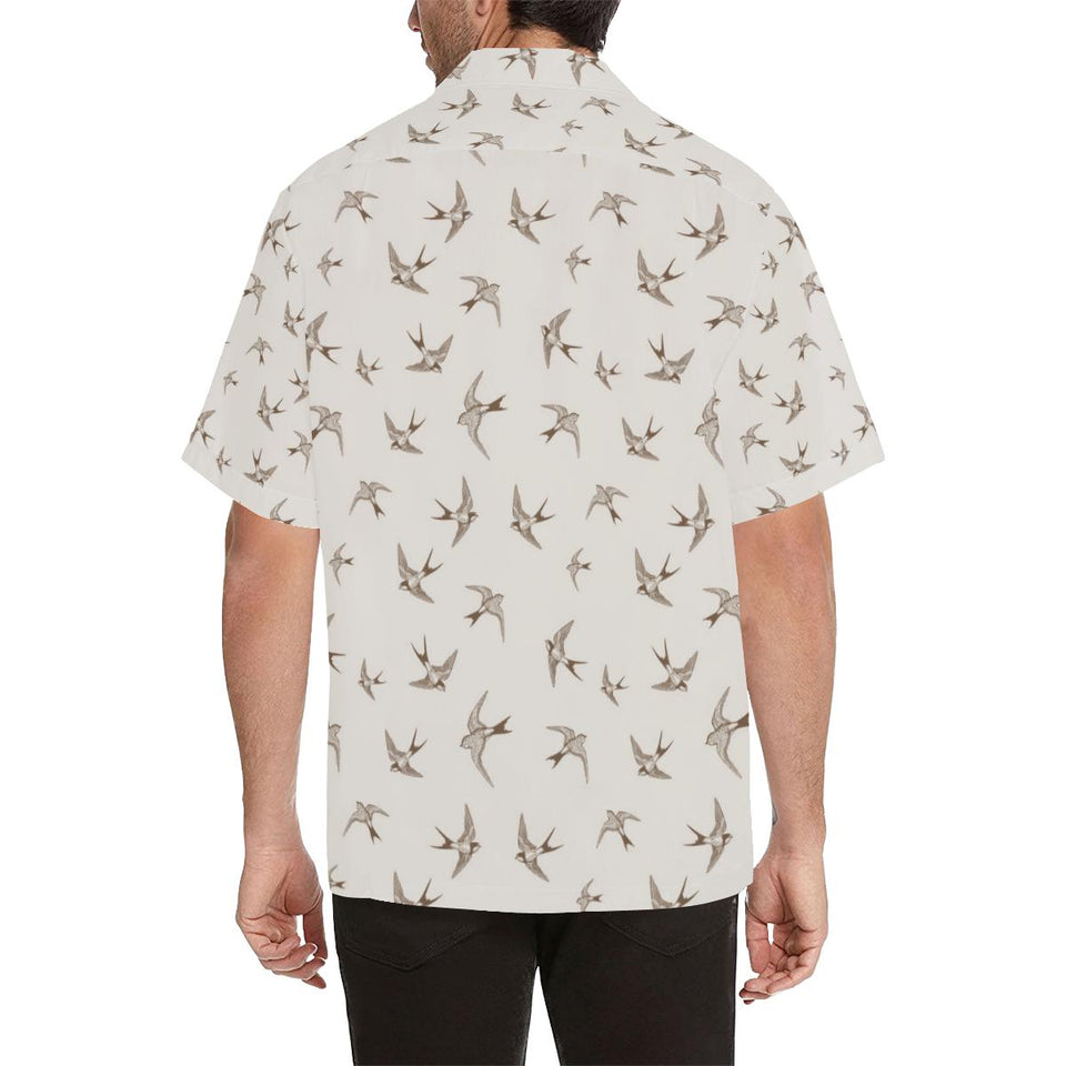 Swallow Bird Pattern Print Design 01 Hawaiian Shirt-kunshirts.com