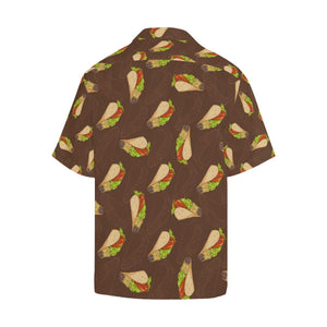 Taco Pattern Print Design TC08 Hawaiian Shirt-kunshirts.com