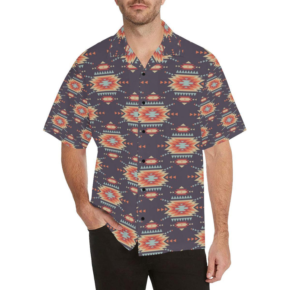 Tribal indians Aztec Hawaiian Shirt-kunshirts.com