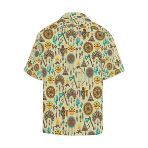 Tribal indians native american aztec Hawaiian Shirt-kunshirts.com