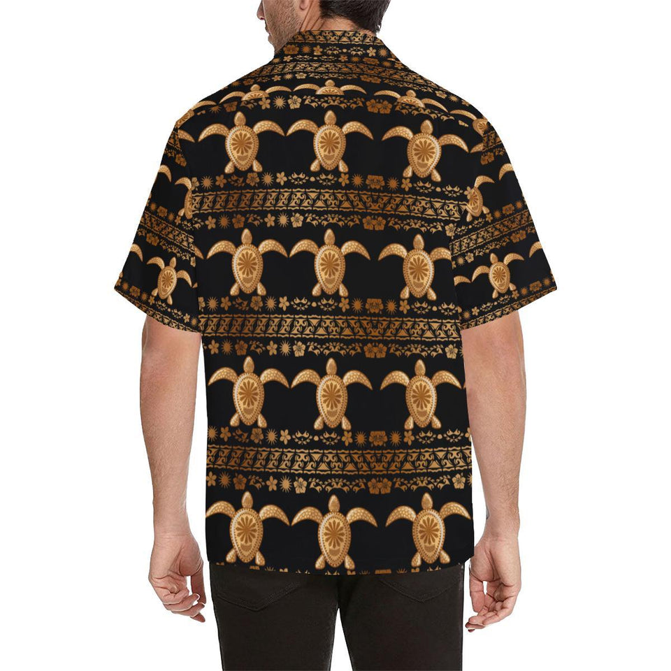 Tribal Sea turtle Polynesian Hawaiian Hawaiian Shirt-kunshirts.com