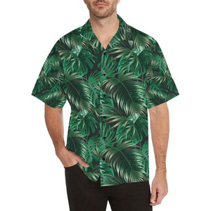 Tropical Flower Pattern Print Design TF012 Hawaiian Shirt-kunshirts.com