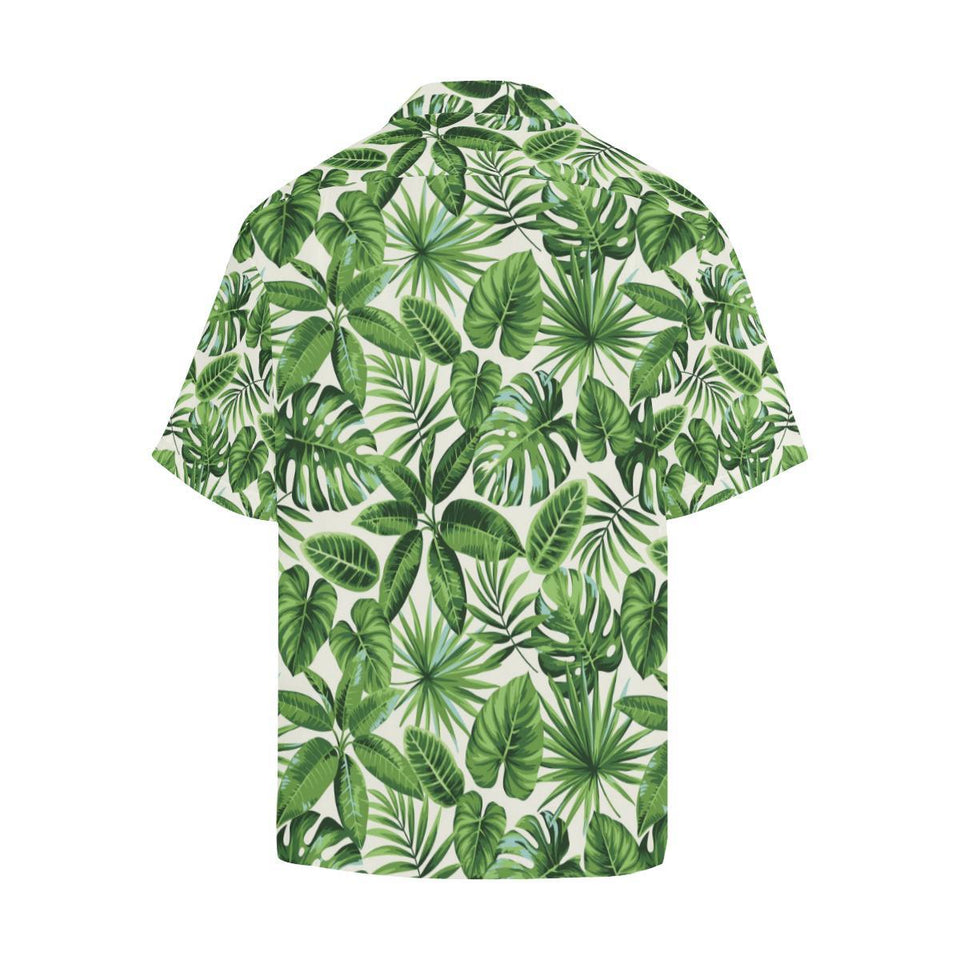 Tropical Flower Pattern Print Design TF013 Hawaiian Shirt-kunshirts.com
