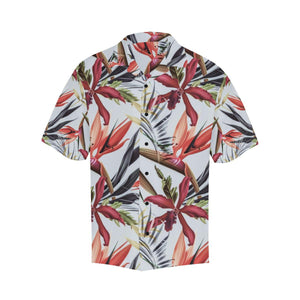 Tropical Flower Pattern Print Design TF021 Hawaiian Shirt-kunshirts.com