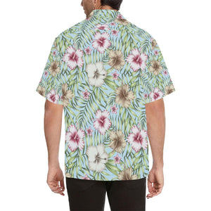 Tropical Flower Pattern Print Design TF05 Hawaiian Shirt-kunshirts.com
