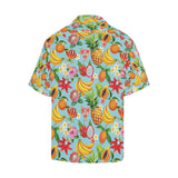 Tropical Fruits Pattern Print Design TF01 Hawaiian Shirt-kunshirts.com