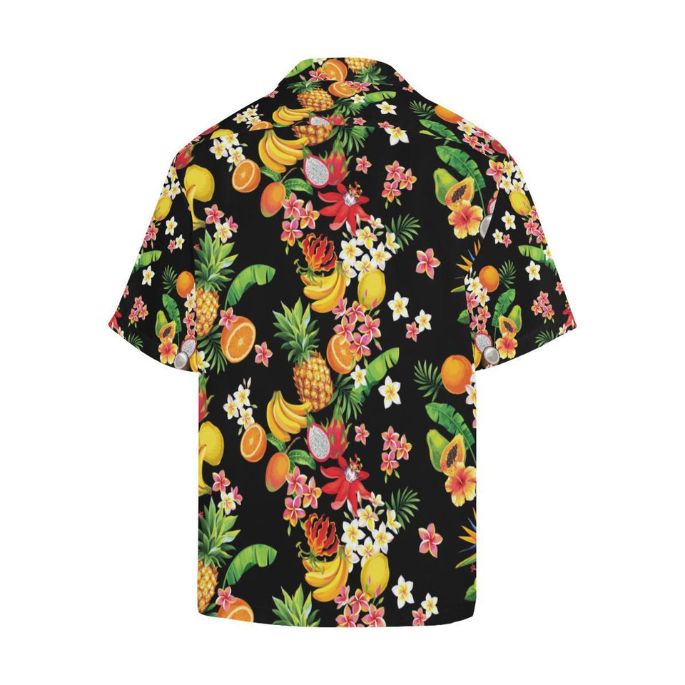 Tropical Fruits Pattern Print Design TF02 Hawaiian Shirt-kunshirts.com
