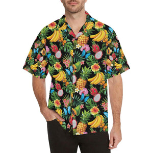 Tropical Fruits Pattern Print Design TF04 Hawaiian Shirt-kunshirts.com