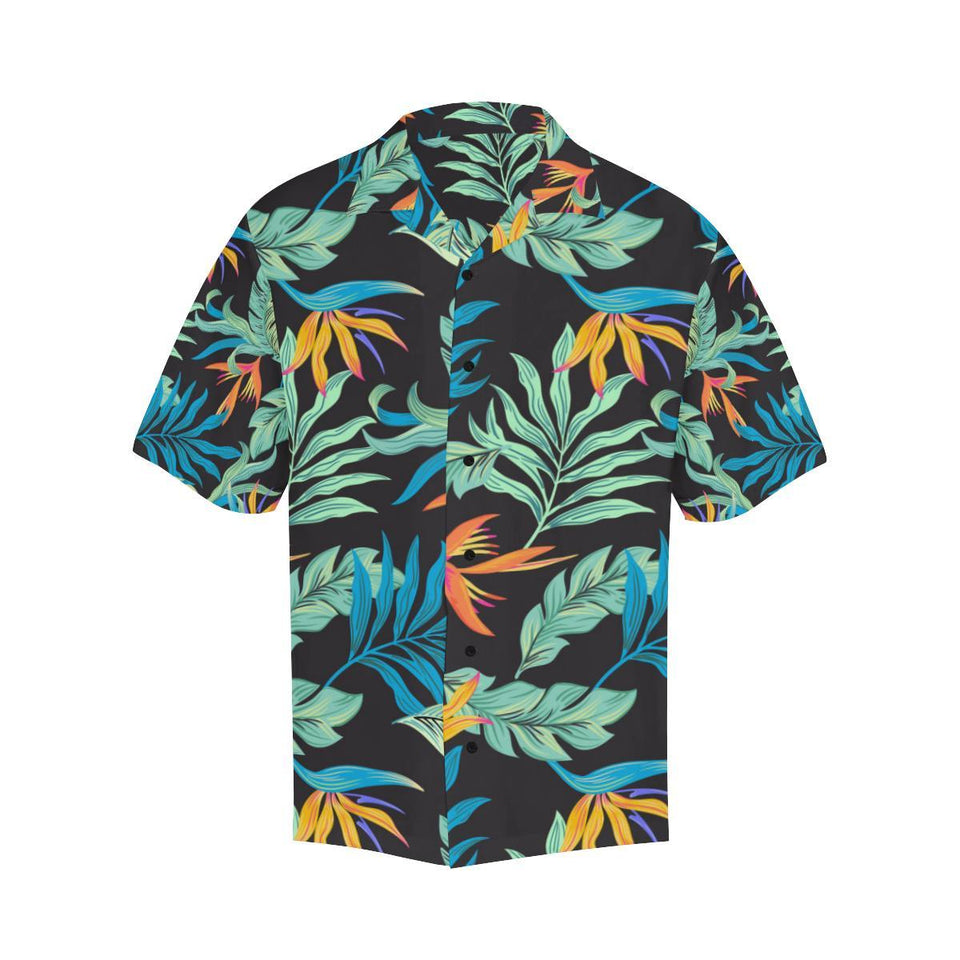 Tropical Palm Leaves Hawaiian Flower Hawaiian Shirt-kunshirts.com