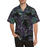 Tropical Palm Leaves Pattern Brightness Hawaiian Shirt-kunshirts.com