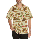 Turkey Pattern Print Design 02 Hawaiian Shirt-kunshirts.com