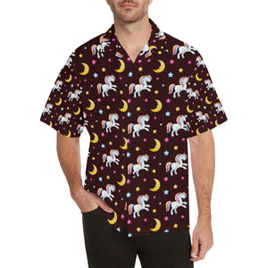 Unicorn Moon Star Hawaiian Shirt-kunshirts.com
