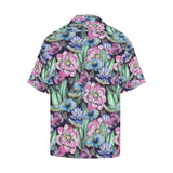Water Lily Pattern Print Design WL07 Hawaiian Shirt-kunshirts.com