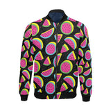 Watermelon Pattern Print Design WM07 Men Bomber Jacket-kunshirts.com